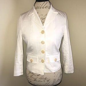 EUC 🧡 THE LIMITED   White Blazer Jacket
